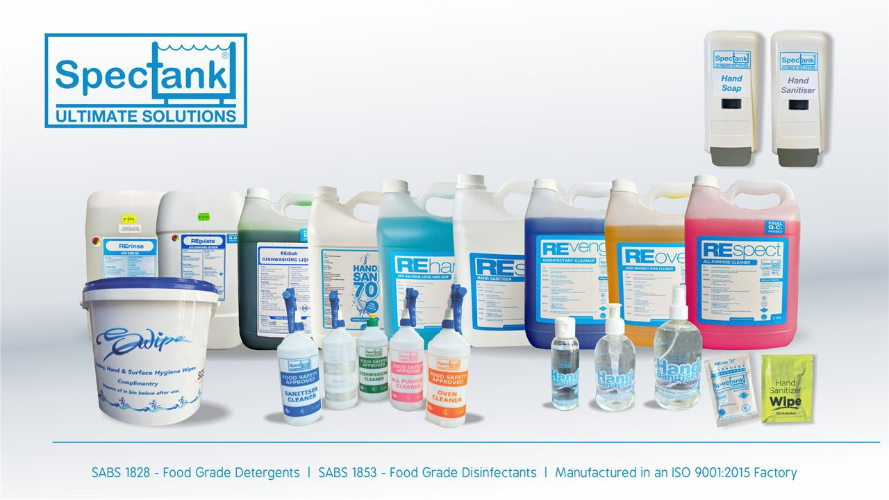 Spectank Cleaning Products