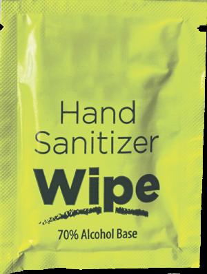 Hand Sanitizer Wipe